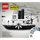 LEGO Steamboat Willie Set 21317 Instructions