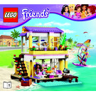 LEGO Stephanie's Beach House Instructions