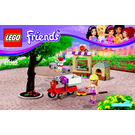 LEGO Stephanie's Pizzeria Set 41092 Instructions