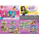 LEGO Stephanie's Play Cube - Beauty Salon Set 41406 Instructions