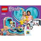 LEGO Stephanie's Summer Heart Box Set 41386 Instructions