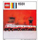 LEGO Sterling Baggage Train Set 1551-2