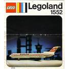 LEGO Sterling Boeing 727 Set 1552-2
