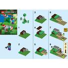 LEGO Steve and Creeper Set 30393 Instructions