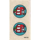 LEGO Sticker for Set 3719