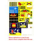 LEGO Sticker From Book 6000, Sheet 2