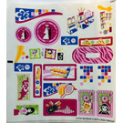 LEGO Sticker Sheet 1 for Set 41058 (17797)