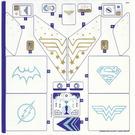 LEGO Sticker Sheet 1 for Set 41239 (33994)