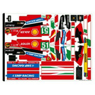 LEGO Sticker Sheet 1 for Set 42125 (72212)
