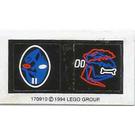 LEGO Sticker Sheet 1 for Set 6854 (170910)
