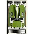 LEGO Sticker Sheet 2 for Lamborghini Urus ST-X from Set 76899 (66931)