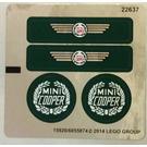 LEGO Sticker Sheet 2 for Set 10242 (15920)