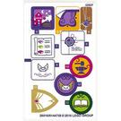 LEGO Sticker Sheet 2 for Set 41176 (26017)