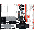 LEGO Sticker Sheet 2 for Set 42096 (49748)