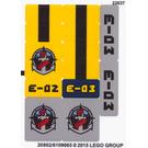 LEGO Sticker Sheet 2 for Set 60093 (20802)