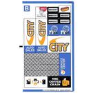 LEGO Sticker Sheet 2 for Set 60097 (21914 / 21915)