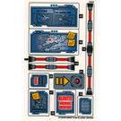 LEGO Sticker Sheet 2 for Set 70596 (27359)