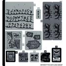 LEGO Sticker Sheet 2 for Set 75810 (64018)