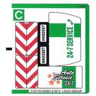 LEGO Sticker Sheet 3 for Set 60097 (21917 / 21918)