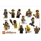 LEGO Sticker Sheet - Collectible Minifigures Series 1