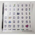 LEGO Sticker Sheet for Gear 40360 (50421)