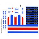 LEGO Sticker Sheet for Set 10001 (42689)