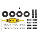 LEGO Sticker Sheet for Set 10020-1 (43822)