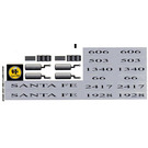 LEGO Sticker Sheet for Set 10022 / 10025 (45443)