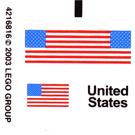 LEGO Sticker Sheet for Set 10029 (48255)