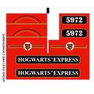 LEGO Sticker Sheet for Set 10132 / 4758 (50200)