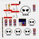 LEGO Sticker Sheet for Set 10192 (64365)