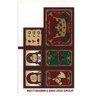 LEGO Sticker Sheet for Set 10193 (85217)