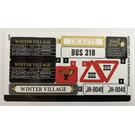 LEGO Sticker Sheet for Set 10259 (34453)
