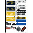 LEGO Sticker Sheet for Set 10265 (49557)