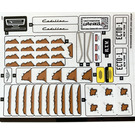 LEGO Sticker Sheet for Set 10274 (78153)