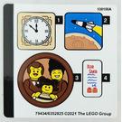 LEGO Sticker Sheet for Set 10293 (79434)