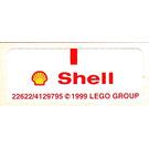 LEGO Sticker Sheet for Set 1251 (22622)