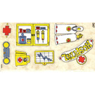 LEGO Sticker Sheet for Set 137-1