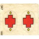 LEGO Sticker Sheet for Set 137-1 / 347-3
