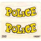 LEGO Sticker Sheet for Set 140-1 / 350-3