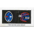 LEGO Sticker Sheet for Set 1737 / 5129 / 6856 / 6899 / 6938 / 6958 / 6982