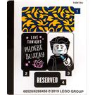 LEGO Sticker Sheet for Set 21319 (66529)