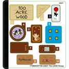 LEGO Sticker Sheet for Set 21326 (77398)