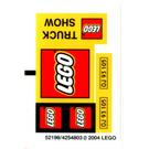 LEGO Sticker Sheet for Set 2148-1 (71593)