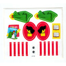 LEGO Sticker Sheet for Set 230-1