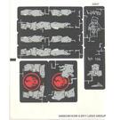 LEGO Sticker Sheet for Set 2505 (94682)
