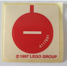 LEGO Sticker Sheet for Set 2535