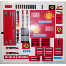LEGO Sticker Sheet for Set 2556 (72535)