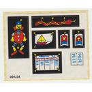 LEGO Sticker Sheet for Set 266-1