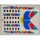 LEGO Sticker Sheet for Set 2718 (72614)